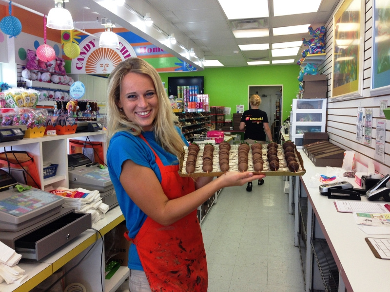 Candy Shop In Ocean City Work And Travel Usa Czech Us